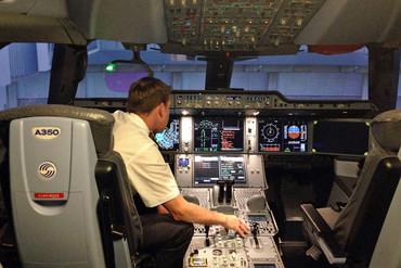 Cathay deputy chief pilot Evan Summerfield (Annabelle Tukia)