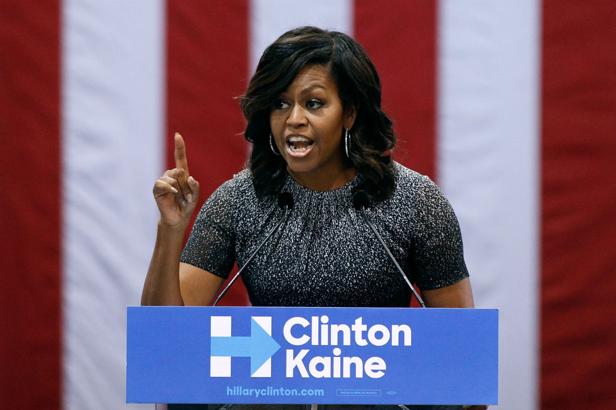 Calls for Michelle Obama to rescue battered Democrats mount