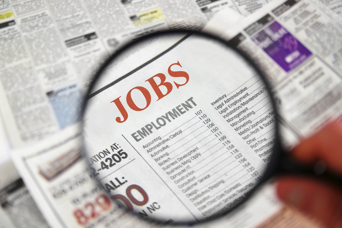 Jobless rate falls to near eight-year low