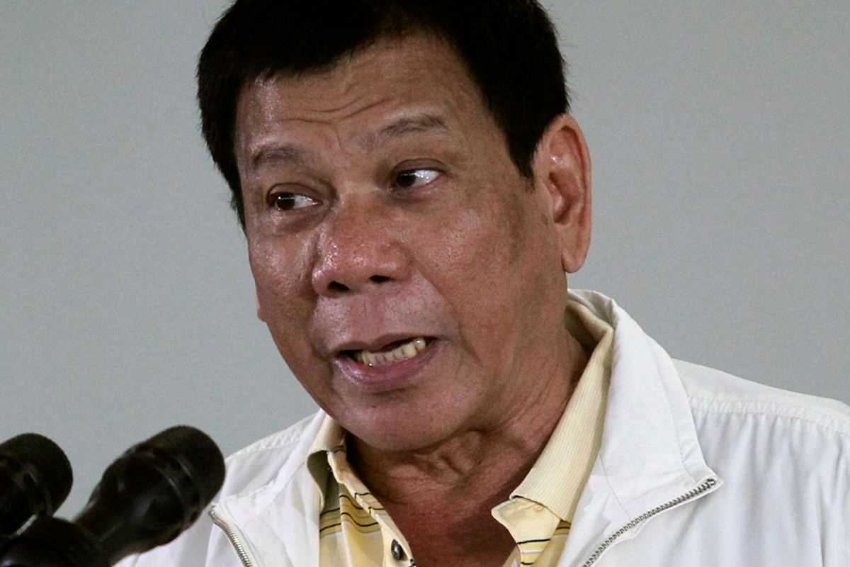 Duterte to Declare Disputed Area a No-Fishing Zone for All