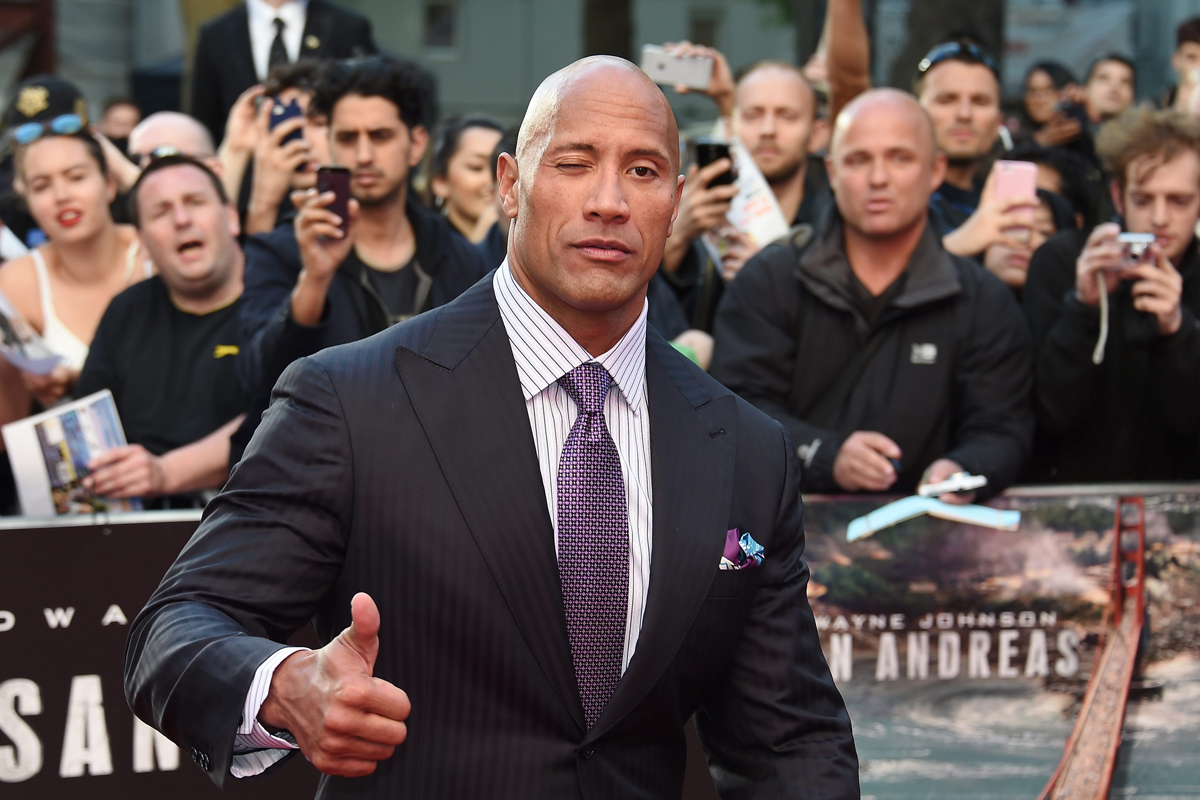 Dwayne Johnson invited to Joseph Parker fight