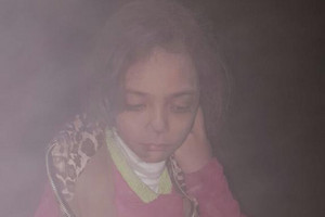 Bana Alabed tweeted after her home was bombed in Aleppo (Twitter)