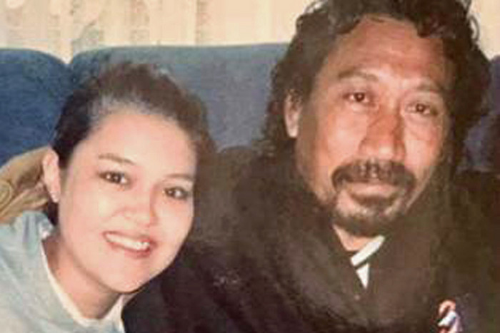 Taulagi Afamasaga and his daughter Amy Yerro (Supplied)