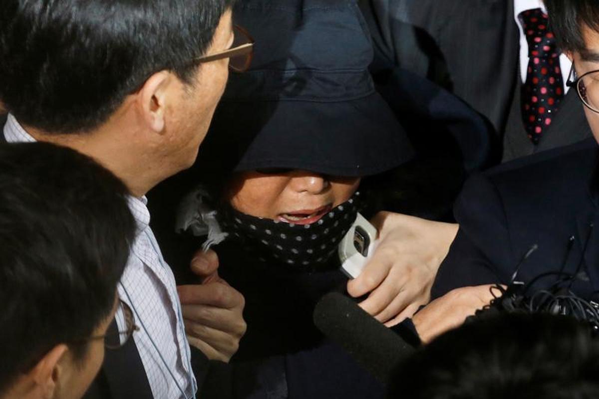 S. Korea court approves arrest of Park's friend