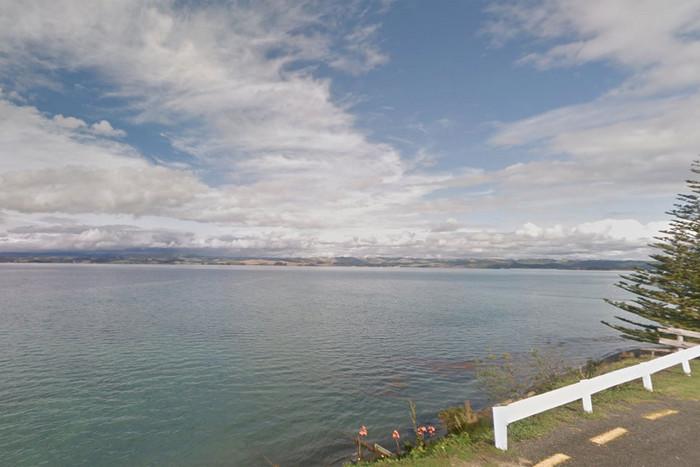 The ocean, off Kawhia (Google Maps)