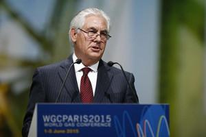 Exxon chief Rex Tillerson (Reuters)