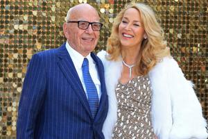 Rupert Murdoch and Jerry Hall (Reuters)