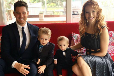 Michael Bublé and his family (Michael Bublé/Facebook)