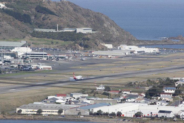 Wellington Airport (Simon Wong/Newshub.)