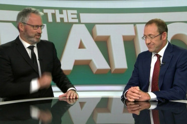 Andrew Little (right)