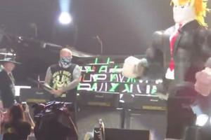 Guns N' Roses and fans (TMZ)
