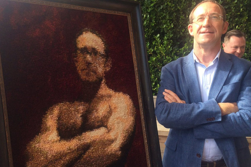Andrew Little and Andrew Big (Andrew Little/Twitter)