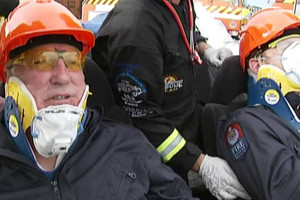 Gary McCormick and Julian Lee saved by Australasia's top rescue squad