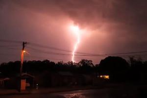 The lightning (Newshub.)