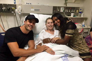 Beau Ryan rushes across town to visit terminally-ill Sydney woman