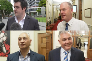 Backbenchers 'Four Amigos' key to future National leader's success