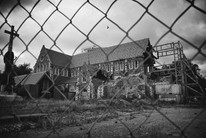 Mr Parker was Mayor of Christchurch when the February 22 quake killed 185 people and broke the iconic cathedral (Getty)