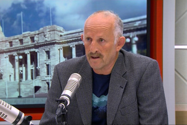Gareth Morgan on the Paul Henry programme (Newshub.)