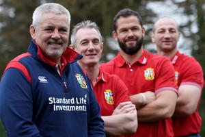 Lions coaching staff (Reuters)