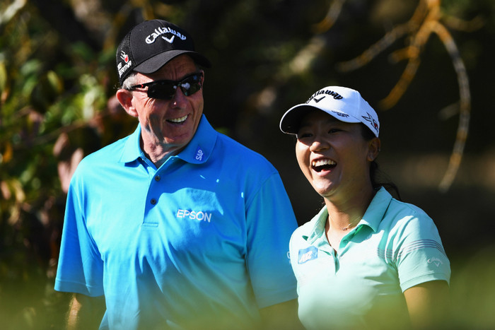 David Leadbetter and Lydia Ko (Getty Images)