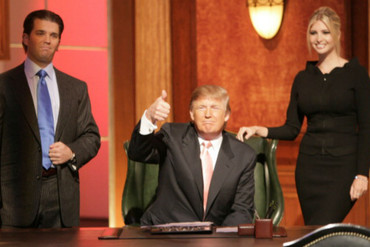 Trump has been the face of The Apprentice since 2004 (Getty)
