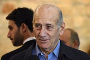 Former Israeli Prime Minister Ehud Olmert (Reuters)