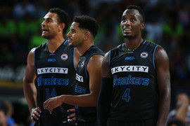 Mika Vukona, Corey Webster and Cedric Jackson (Getty Images)