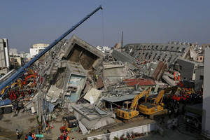 Taiwan developer taken into custody after quake