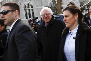 Democratic US presidential candidate Bernie Sanders (Reuters)