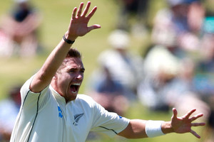 Southee comeback on track for first Test