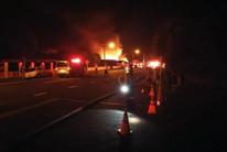No one was injured in the blaze