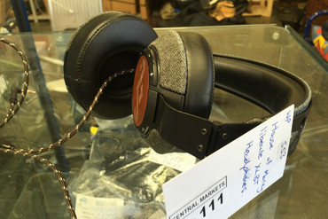 A set of headphones among other items were taken in the burglary. (Supplied)
