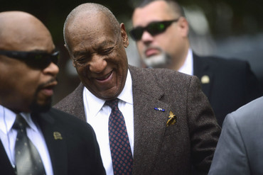 Actor and comedian Bill Cosby arrives for a hearing on sexual assault charges at the Montgomery County Courthouse (Reuters)
