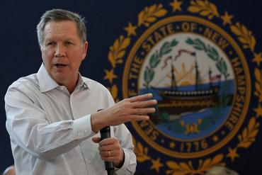 US Republican presidential candidate John Kasich (Reuters)