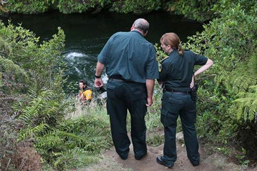 Drowning victim Rotorua (Newshub)