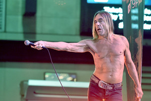 Iggy Pop performs (Getty)