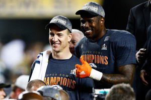 Peyton Manning and Von Miller (Getty Images)