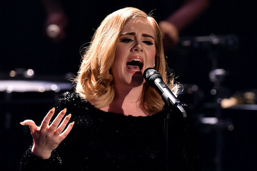 Adele performs (Getty)