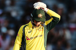 Dropped keeper Matthew Wade (Getty Images)