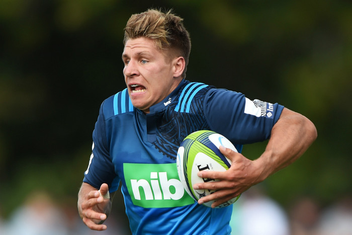 Piers Francis is set to make his Blues debut against the Jaguares (Photosport)