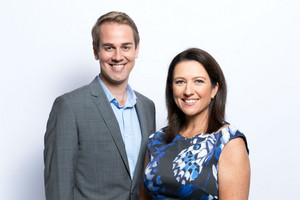 Andrew Gourdie and Michelle Pickles (Mediaworks)
