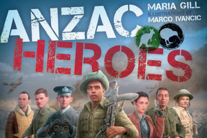 ANZAC Heroes is written with school kids in mind but is proving popular among adults too (Maria Gill)