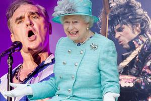 Morrissey, the Queen and Prince (Getty)
