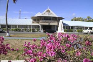 A Nauru government building (Reuters file)