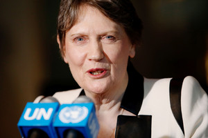 Helen Clark is in the running to become UN Secretary-General (Getty)
