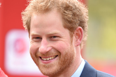 Prince Harry, a famous redhead (Getty)