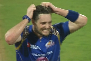 Video: Tim Southee drops Mitchell McClenaghan twice in consecutive balls