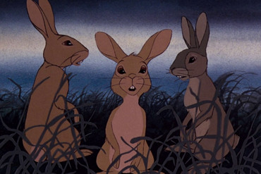 The first Watership Down film was released in 1978