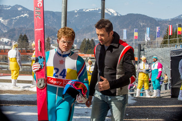 Eddie the Eagle is in cinemas now