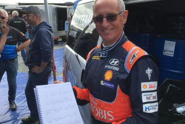 Paddon's co-driver John Kennard (Newshub)